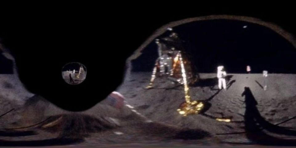 Visual effects artist reveals what Buzz Aldrin saw on the moon