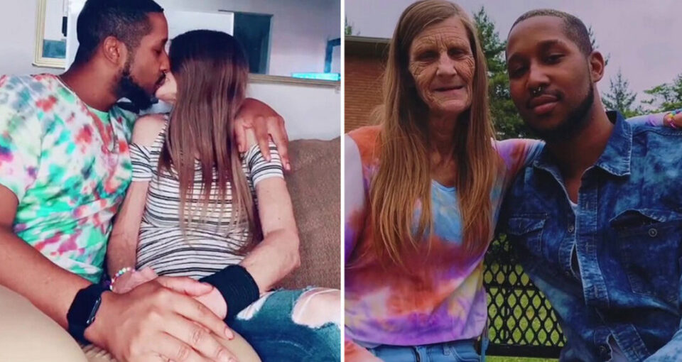 61 year old woman and 24 year old boyfriend announced their engagement