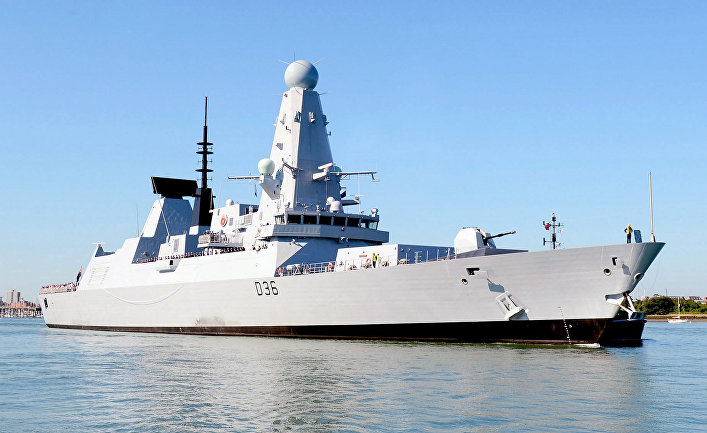 British ships are sailing to China you need to follow the example of the Russians
