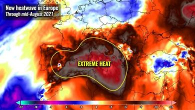 Extreme heat hits historic temperature records in Europe