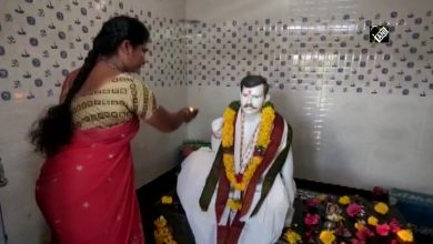 Indian woman builds temple in honor of her deceased husband