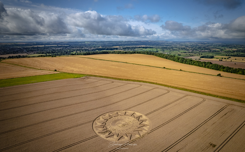 New field drawing discovered in Wiltshire England 4