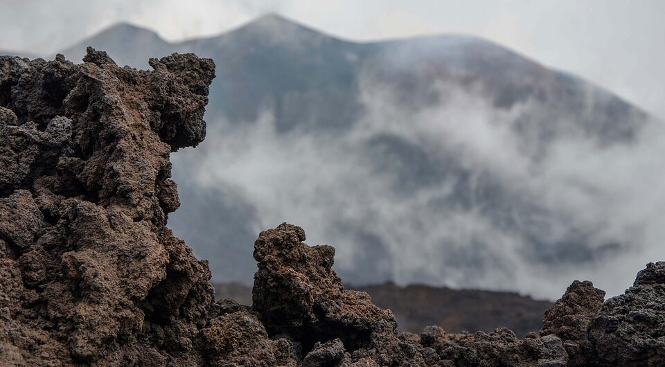 The famous volcano has grown by thirty meters in six months
