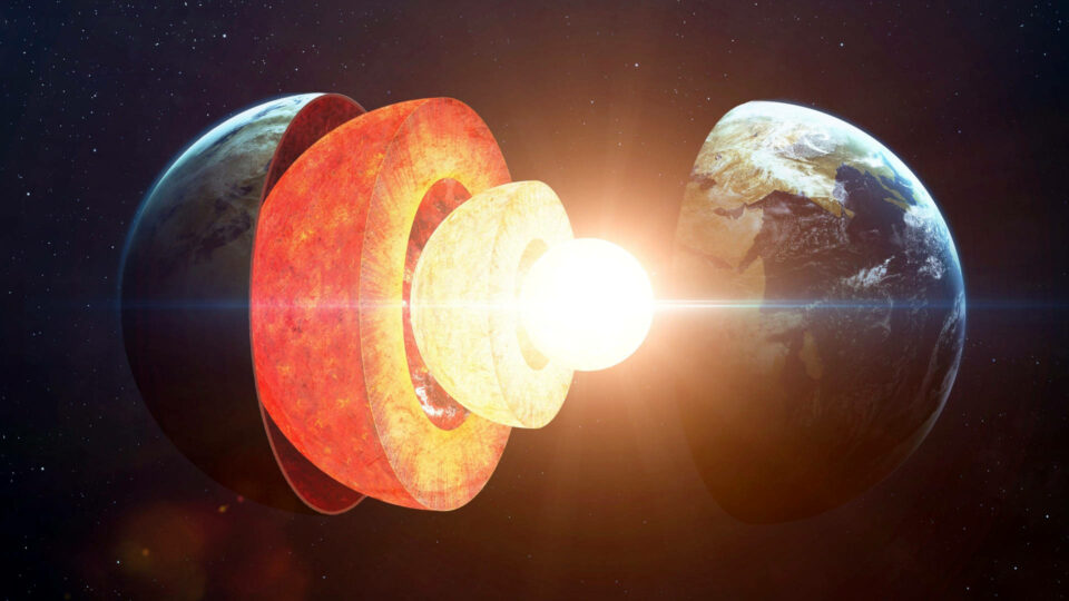 The inner core of the Earth grows faster on one side than on the other