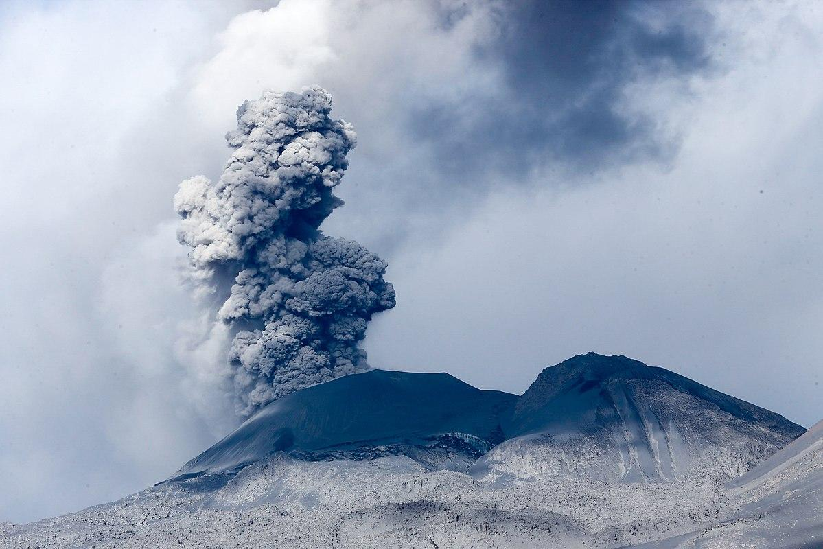 Three volcanoes erupt at the same time in Alaska