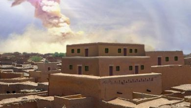 A blow from space destroyed the biblical city of Sodom evidence found