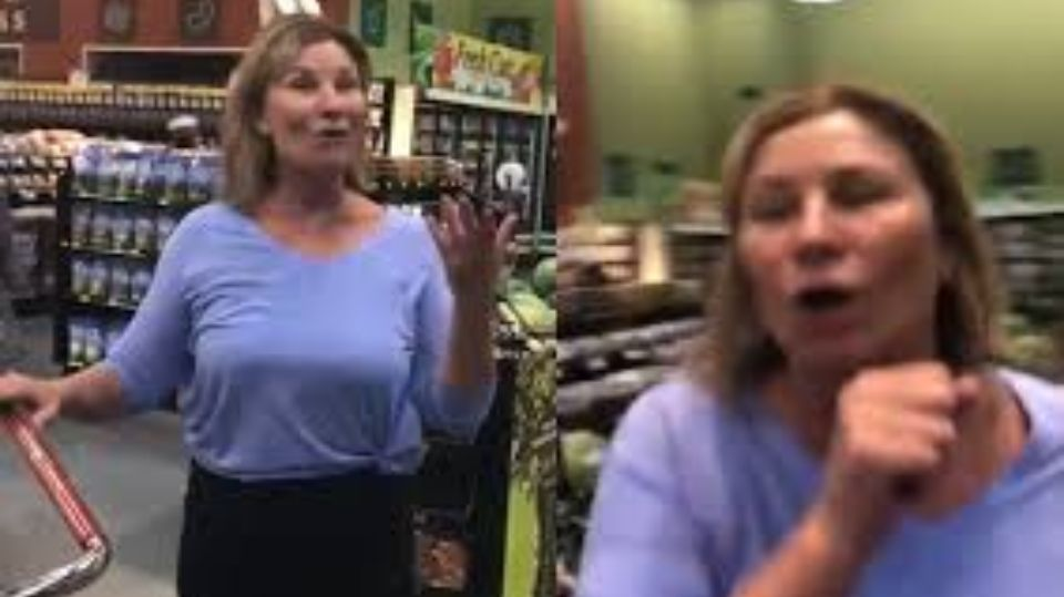 American woman was fired from her job because she coughed on supermarket customers