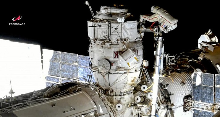 Fire alarm triggered on ISS