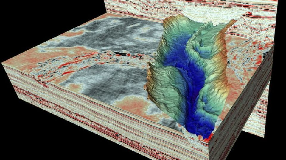 Huge glacial tunnels discovered under the North Sea
