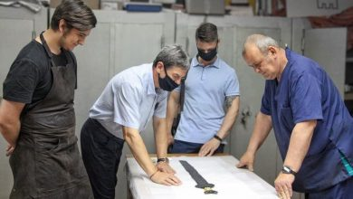 In Siberia a rare Scythian sword was handed over for scrap