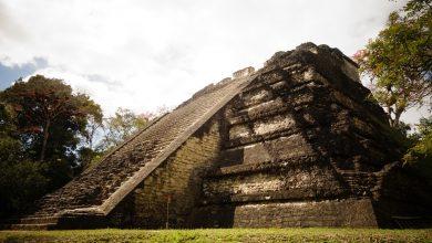 Mayans built a pyramid in El Salvador