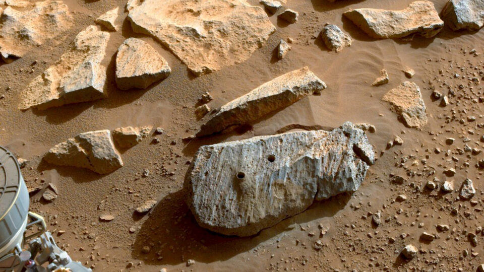 Perseverance rover has found signs of a potentially habitable environment