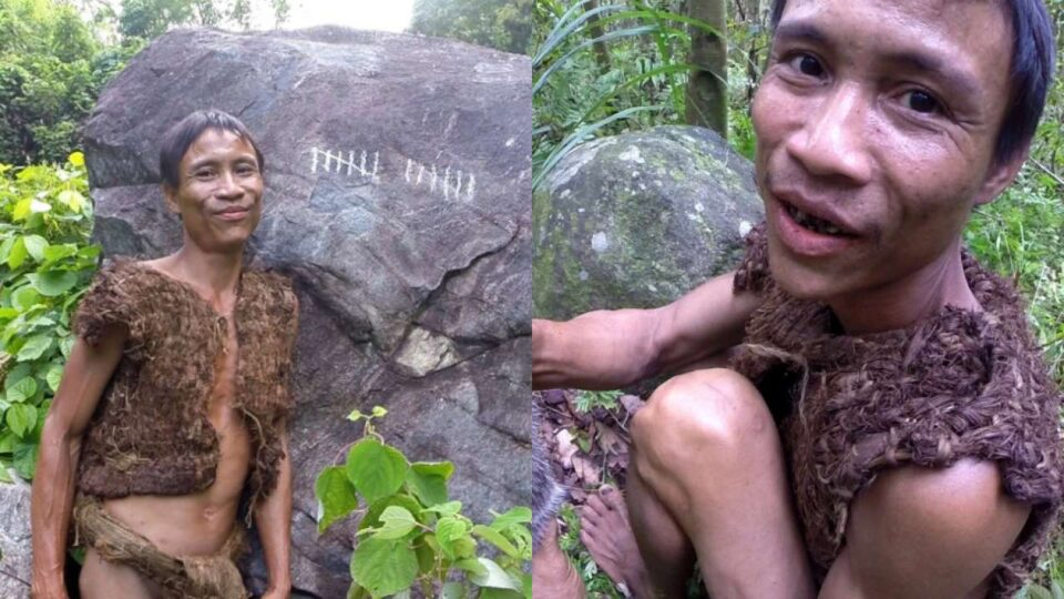 Tarzan who lived in the jungle for 40 years died in Vietnam