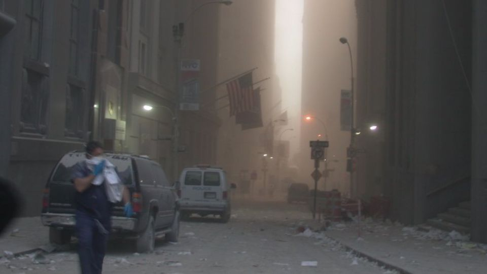 US intelligence agencies have published new images from the scene of the September 11 2001 terrorist attack