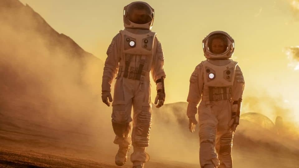 how long a person can be on Mars